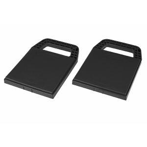 Plaques de stabilisateurs de caravane - 4 pièces