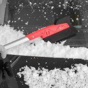 Grattoir à glace Pare-brise avec pousseur de neige molle