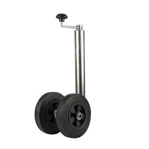 Double roue jockey 48mm