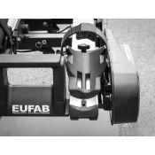 Sabot de roue 3,25 pouces pour porte-vélos EUFAB