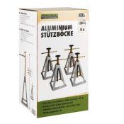 Chandelles de caravane en aluminium - 4 pièces