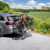 Fixe-cadre Long Amovible Antivol avec Collier de serrage - Porte-vélos EUFAB