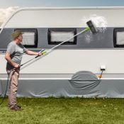 Brosse de lavage Tige télescopique 180cm