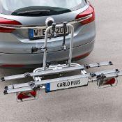 Porte-vélos 3 vélos sur attelage CARLO PLUS basculant - EUFAB