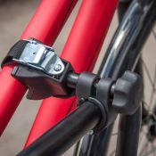 Porte-vélo 1 vélo sur attelage AMBER1 - EUFAB