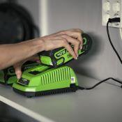 Chargeur Universel 40V pour batteries GREENWORKS