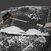 Grattoir à glace Télescopique avec pousseur de neige molle pour pare-brise