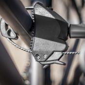 Fixe-cadres Antivol 2 vélos avec Collier de serrage - Porte-vélos EUFAB