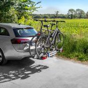 Porte-vélos sur attelage 2 vélos PREMIUM TG pliable - EUFAB