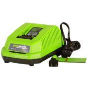 Débroussailleuse sans fil GREENWORKS 40V avec batterie et chargeur