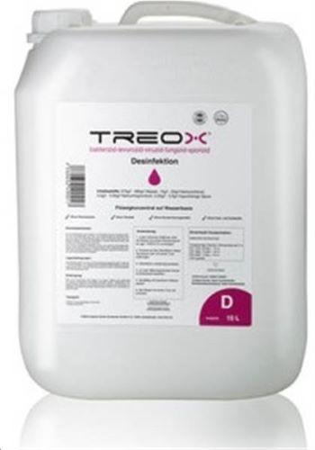 TREOX - Désinfectant, virucide prêt à l'emploi - 10 Litres
