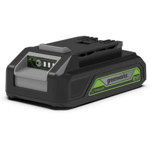 Batterie GREENWORKS 2Ah G-24 Lithium 24V (sans chargeur)
