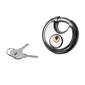 Cadenas avec 2 clés diamètre 7 cm