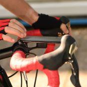 Support de smartphone déporté sur guidon de vélo