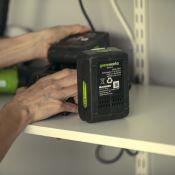 Batterie GREENWORKS 4Ah G-24 Lithium 24V (sans chargeur)