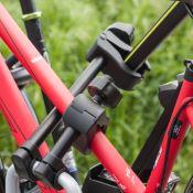 Fixe-cadre Court Antivol avec Pince de serrage - porte-vélos EUFAB
