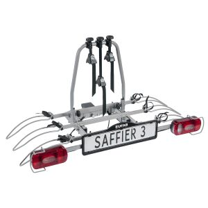 Porte-vélos 3 vélos sur attelage SAFFIER 3 basculant - EUFAB