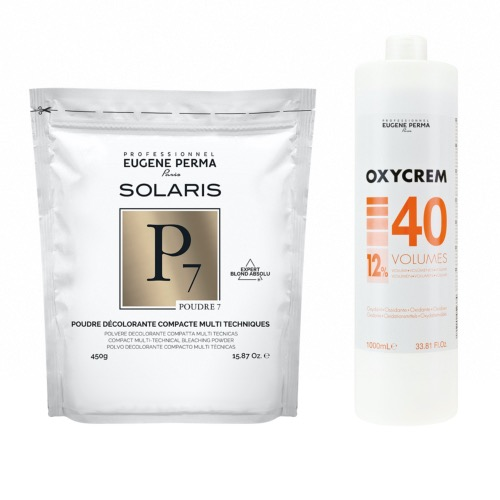 Pack Decoloration Solaris P7 Oxycrem 40 Vol