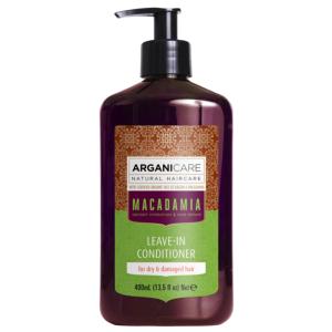 Soin Sans Rinçage Macadamia Cheveux Secs Arganicare 400ml