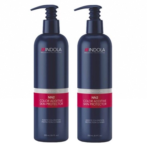 Pack Duo Protection Cutanée Coloration NN2 Indola 250ml