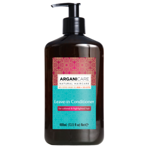 Soin Sans Rinçage Argan Cheveux Colorés Arganicare 400ml