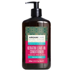 Soin Sans Rinçage Keratin Cheveux Secs Arganicare 400ml
