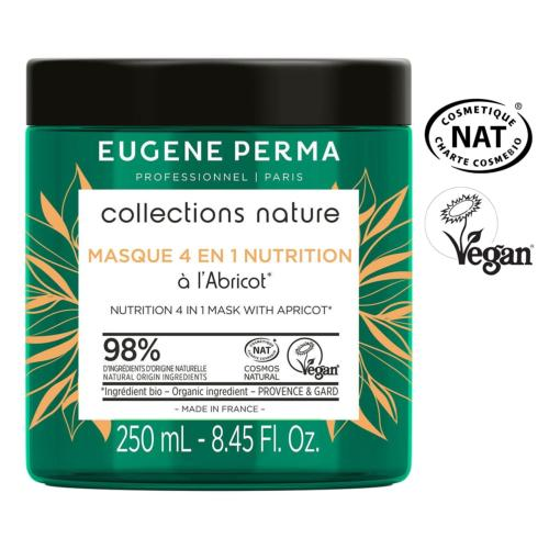 Masque 4 en 1 Nutrition Abricot Collections Nature Eugène Perma 250ml