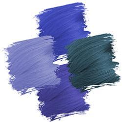 Bleu Crazy Color
