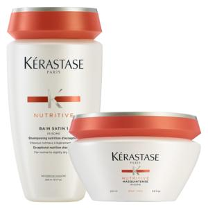 Duo Kérastase : Bain Satin 1 + Masquintense Cheveux Epais