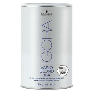 Poudre Décolorante Igora Vario Blond Plus 450g