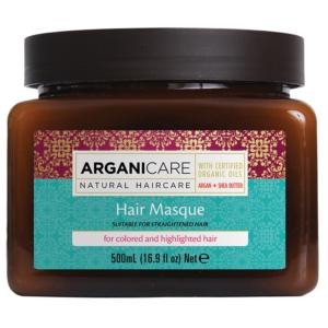 Masque Argan Cheveux Colorés Arganicare 500ml