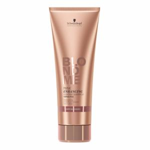 Shampooing BlondMe Tone Enhancing Warm Blondes 250ml