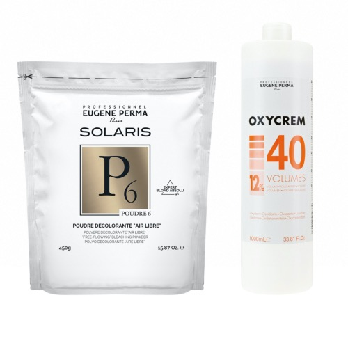Pack Decoloration Solaris P6 Oxycrem 40 Vol