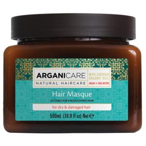 Masque Argan Cheveux Abimés Arganicare 500ml