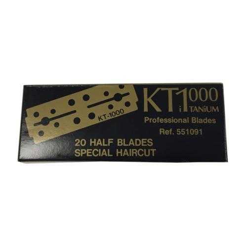 Kit 10 Lames Rasoirs 1/2 KT1000 Kutch Titanium