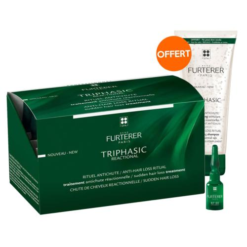 Sérum Antichute Triphasic Réactionnelle René Furterer 24x5ml