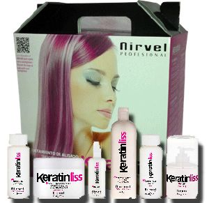 Coffret Lissage keratinLiss Nirvel