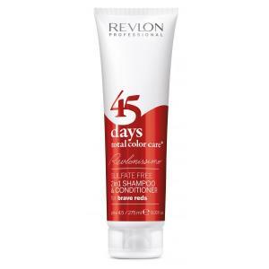 45 Days Revlon - Brave Reds
