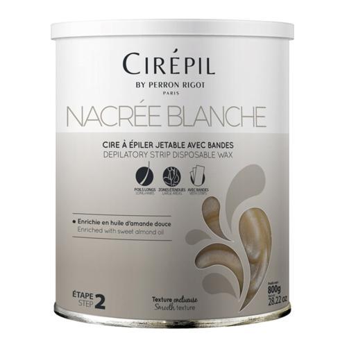 Cire Épilation Wax Nacrée Blanche Cirépil 800g