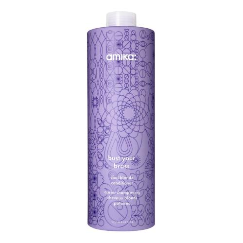 Conditioner Bust Your Brass Cool Blond amika 1000ml