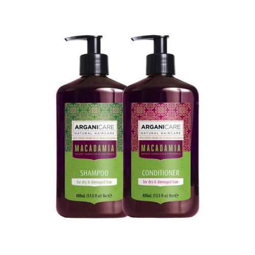 Duo Macadamia Cheveux Secs et Abîmés Arganicare