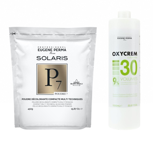Pack Decoloration Solaris P7 Oxycrem 30 Vol