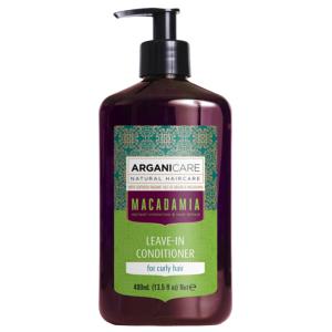 Soin Sans Rinçage Macadamia Cheveux Bouclés Arganicare 400ml