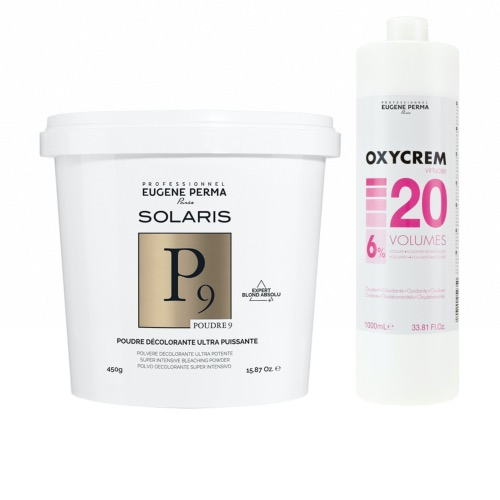 Pack Decoloration Solaris P9 Oxycrem 20 Vol