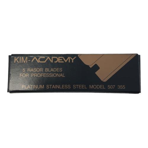 Kit 5 Lames Rasoirs Kim Academy