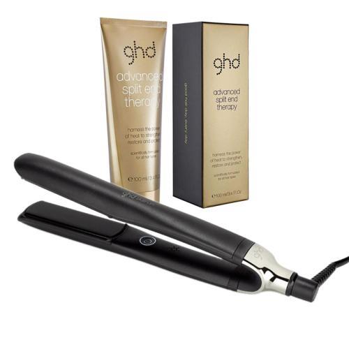 Pack Lisseur ghd Platinum+ Noir Cheveux Abîmés