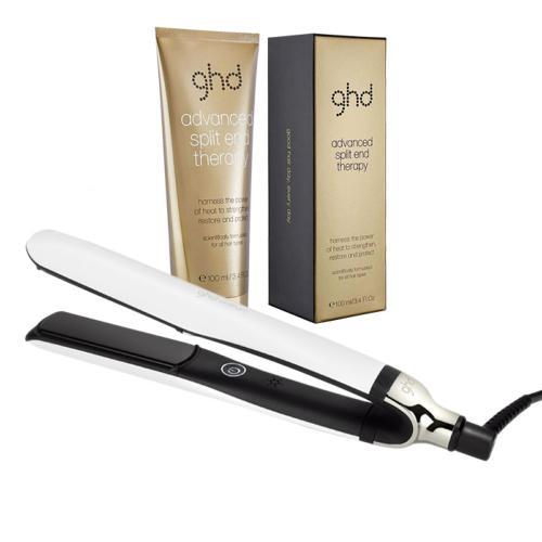 Pack Lisseur ghd Platinum+ Blanc Cheveux Abîmés