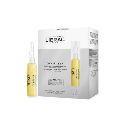 Sérum Anti-Rides Cica-Filler Lierac 3 x 10ml
