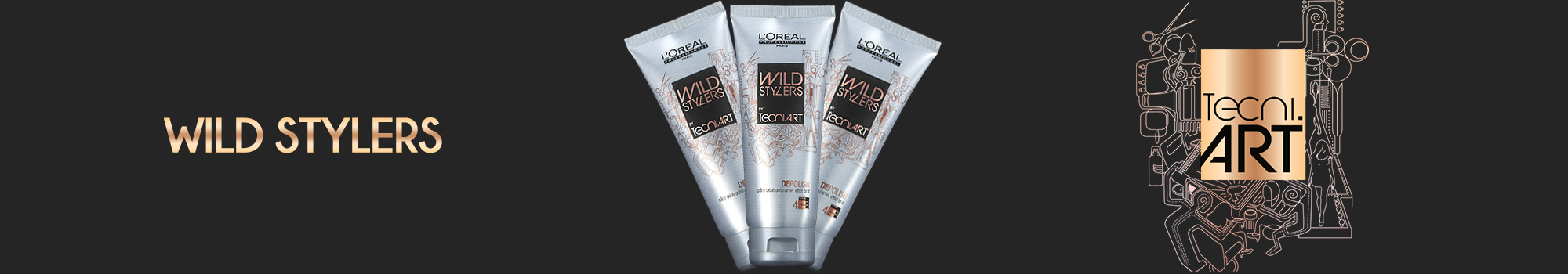 L'Oréal Professionnel Wild Stylers