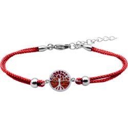 Bracelet Arbre de Vie Agate Rouge - LABISE